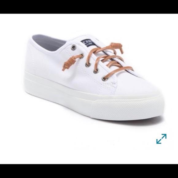 e169ac1b2f3 Sperry Cliffside platform sneaker. M 5c4a6d043c9844429095c64a